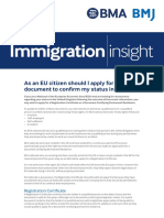 Brexit Factsheet EEA Citizens Should I Certify My Status