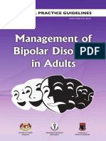 CPG Management of Bipolar Disorder in Adults (1)