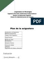 La Ergonomía en Nicaragua
