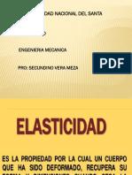 Diapositiva de Elasticidad Fisica II 2018