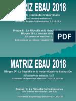 31 de Octubre Matriz Ebau 2018