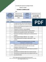 AVANCE CURRICULAR Administracion en Salud