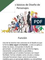 Principios Básicos de Diseño de Personajes