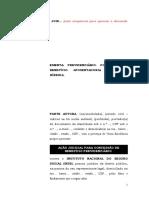 11.07- Pet. inicial - Concessão de Aposentadoria por idade hibrida.doc