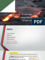 Trabajo de La Evulucion Magmatica