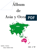 Álbum de Asia y Oceanía