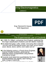 Chapter 2 Coulombs Law and Electric Field
