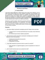 Evidencia 4 Cuestionario Analisis DOFA Marggy Vanegas