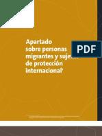Personas Migrantes y Sujetas de Protección Internacional