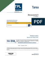 Microeconomía III TAREA