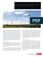 ABB PCS for Wind Industry