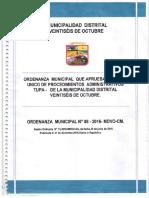 TUPA Municipalidad 26 de Octubre - Piura