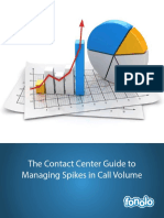 The Contact Center Guide to Managing Spikes in Call Volume