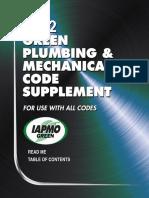 2012 Green Plumbing Mechanical Code