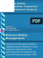 Process Safety Management Inspection