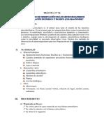 Microbiología - Práctica de preparado en fresco y seco