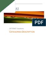Optenet WF Categories