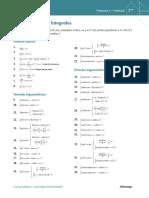 Formulario Cálculo Integral