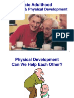 Late Adulthood Cognitive Physical Development