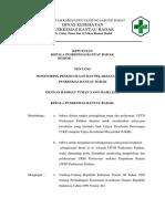 5.5.2 Ep 1 Sk Kepala Puskesmas Tentang Monitoring Pengelolaan Dan Pelaksanaaan Ukm Puskesmas