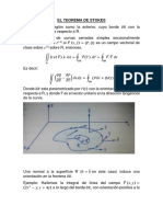 Informe Del Teorema de Stokes 2018