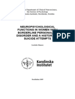 NeuropsychologicalFunctionWomenBorderlineD.Maurex