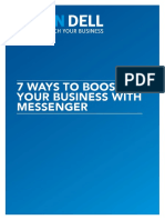 7 Ways to Boost Your Business With Facebook Messenger
