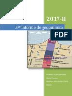 3er informe geoquimica