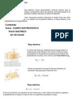 Presentación Flujo Electrico y Ley de Gauss