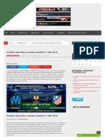 Prediksi Marseille vs Atletico Madrid - LIGABOLADUNIA