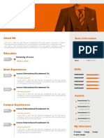 (Basic Resume) Creative Resume With One-Page 11