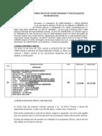 Contrato de Compra Venta de Computadoras y Otros Equipos Informáticos