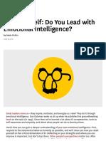 Emotional Intelligence HBR