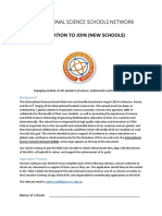 Application to Join the ISSN(1)