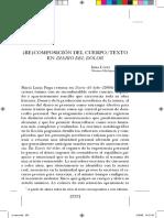 Irma López. Recomposición del cueropo_texto en Diaro del dolor.pdf