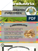 CARBOHIDRATOS - FUNCIONES