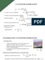 Clase23_Evaporación y Evapotranspiración