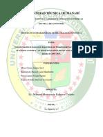 Caracterización de La Pesca de La Provincia de Manabí Desde Las Bases Conceptuales de La Teoría Económica y Su Aporte Del Producto Interno Bruto Del Ecuador en La Década de 2007 (1)
