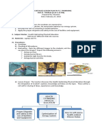 Lesson Plan on PE Swimming3