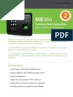 BIOMÉTRICO MB360
