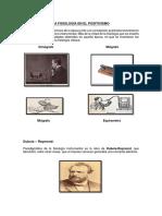 La Fisiología en El Positivismo