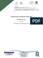 Disciplina_Obligatorie_1 - Curriculum, Instruire, Evaluare