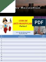 1. Curs de Anti-manipulare