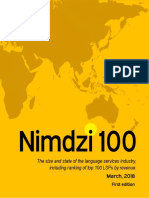 2018 Nimdzi 100 First Edition