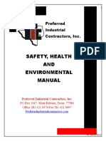 Safety Health Environmental Handbook