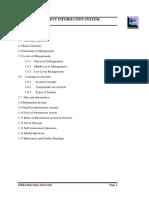 Management of Information System