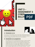 presentation on cyber bullying