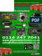 Alliance Electronics Truck Electronic & Electrical Parts Catalogue 2018