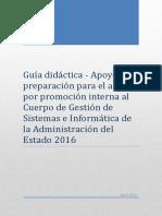 Guía didáctica - Cuerpo de Gestión de Sistemas