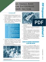 SME Factsheet PIP5